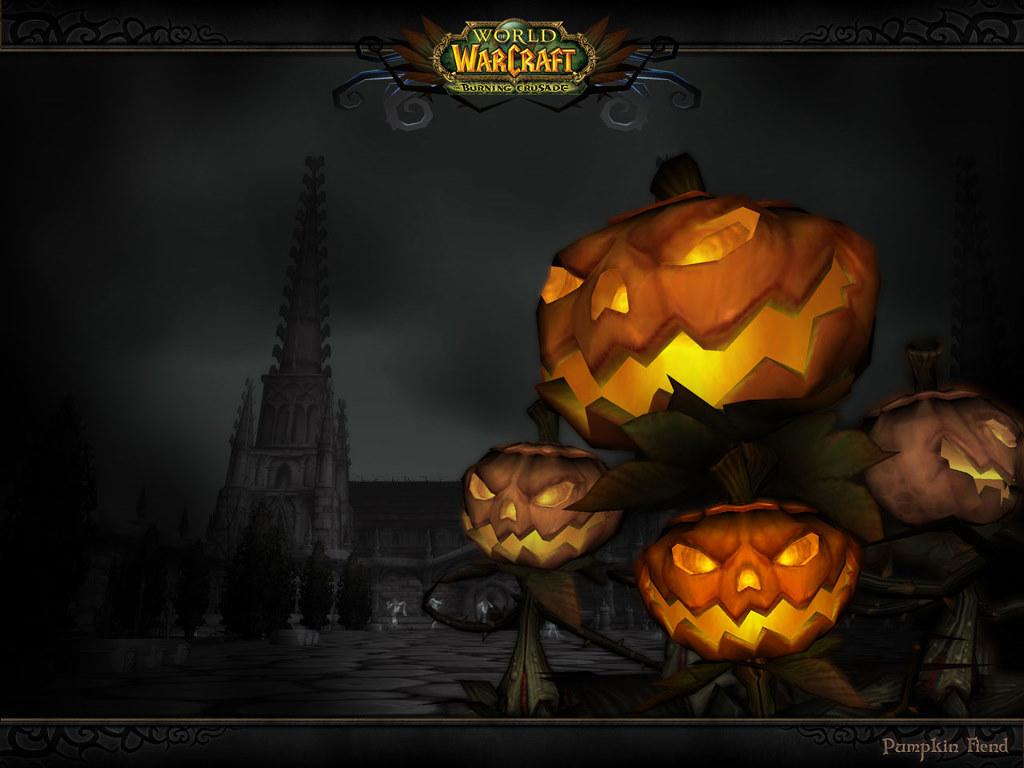 Games Wallpaper: World of Warcraft - Pumpkin Fiend