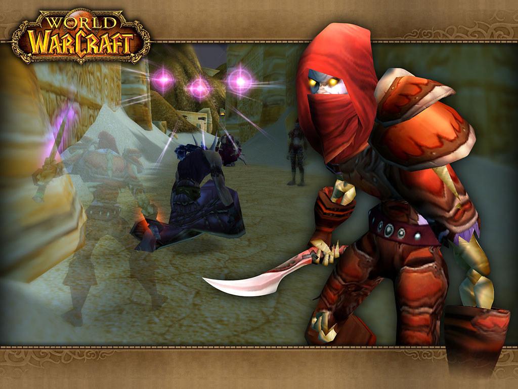 Papel de Parede Gratuito de Jogos : World of Warcraft - Rogue