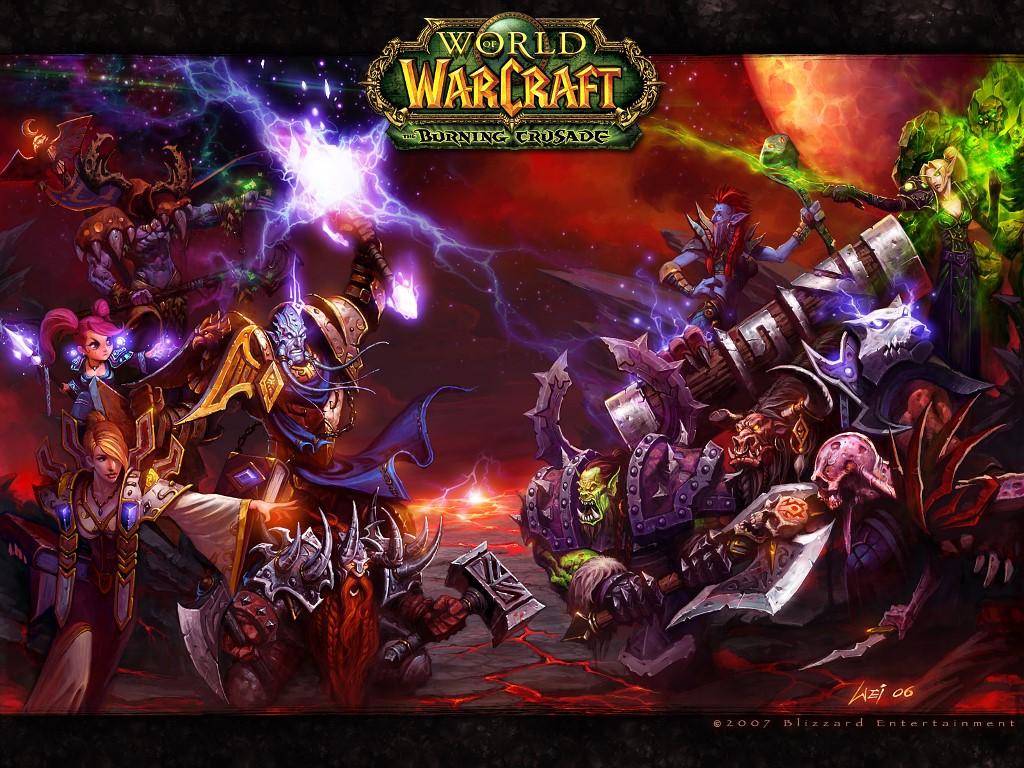 Games Wallpaper: World of Warcraft - The Burning Crusade