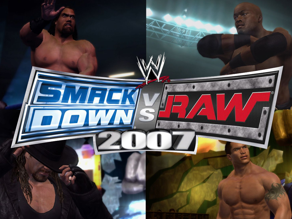 Games Wallpaper: WWE Smackdown VS. Raw 2007