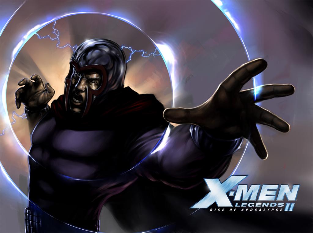 Games Wallpaper: X-Men Legends II - Magneto