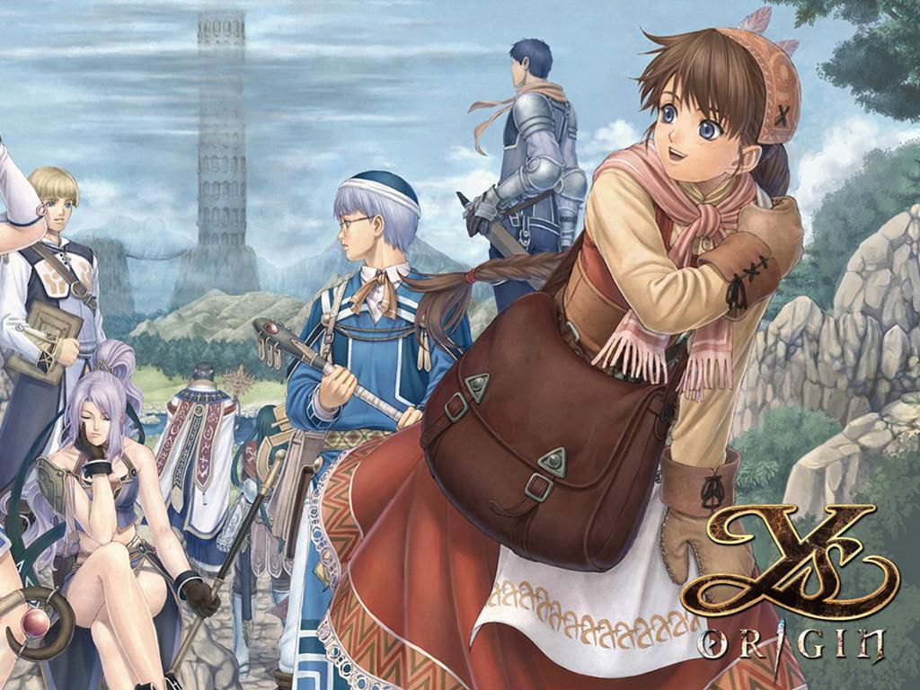 Games Wallpaper: Ys Origin