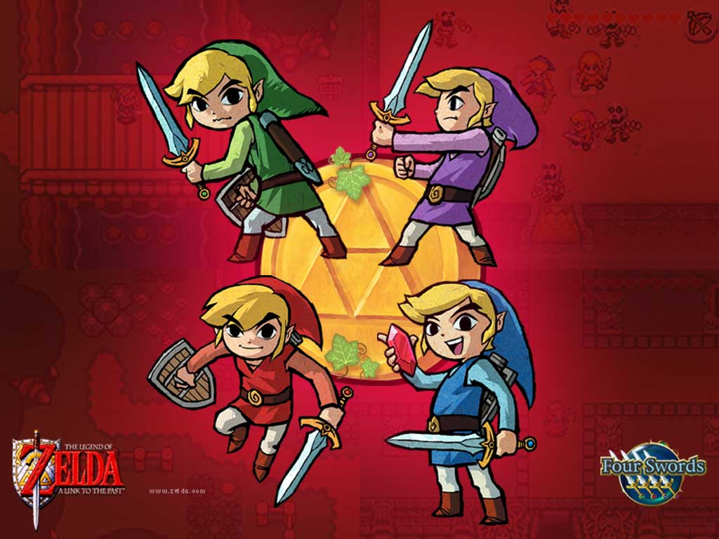 Games Wallpaper: Zelda - Four Swords