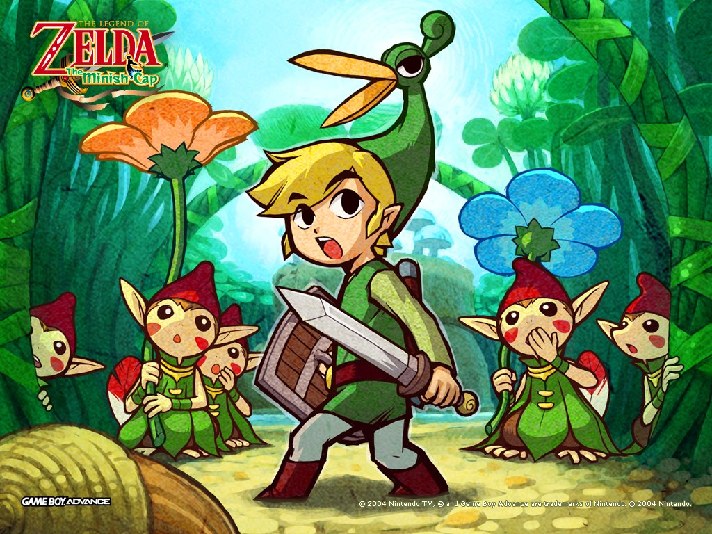Games Wallpaper: The Legend of Zelda - The Minish Cap