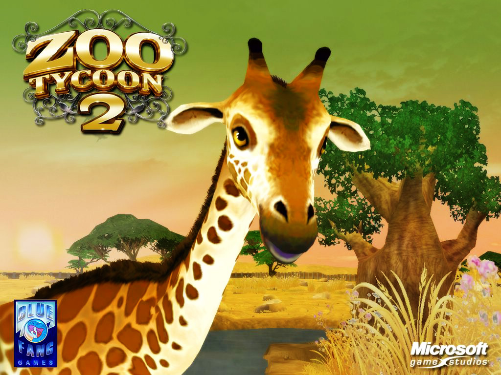 Games Wallpaper: Zoo Tycoon 2