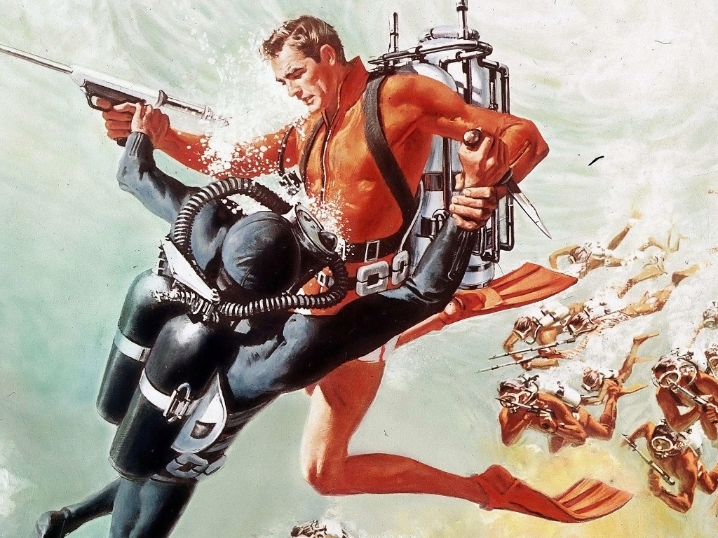 Movies Wallpaper: 007 - Thunderball