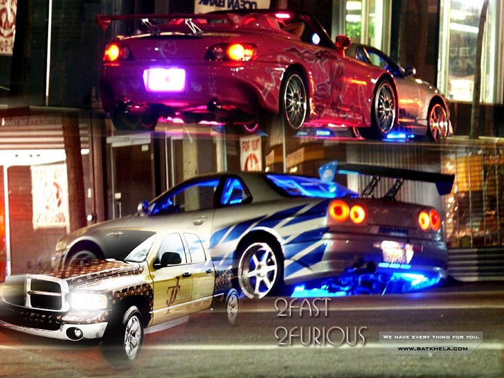 Movies Wallpaper: 2 Fast 2 Furious