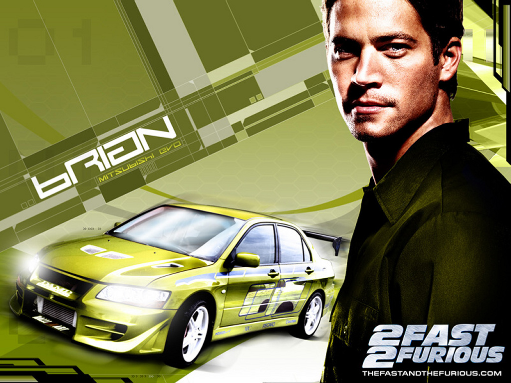 Movies Wallpaper: 2 Fast 2 Furious - Brian