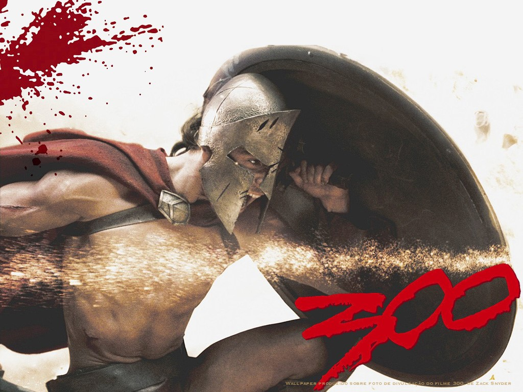 Movies Wallpaper: 300 (extracted from Um Blog no Planeta Mongo)