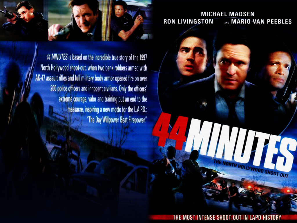 Movies Wallpaper: 44 Minutes - The North Hollywood Shoot-Out