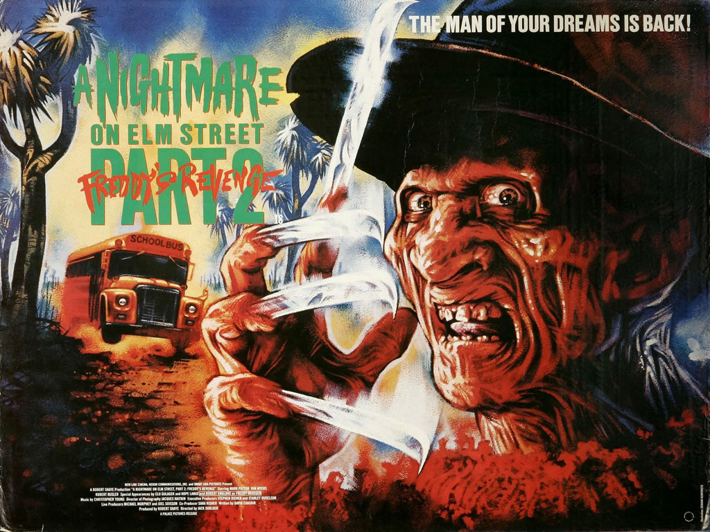 Movies Wallpaper: A Nightmare on Elm Street 2