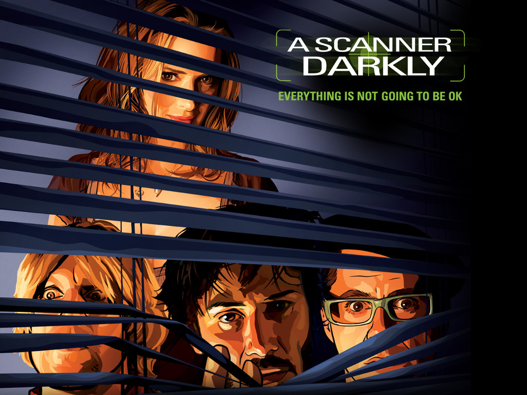 Movies Wallpaper: A Scanner Darkly