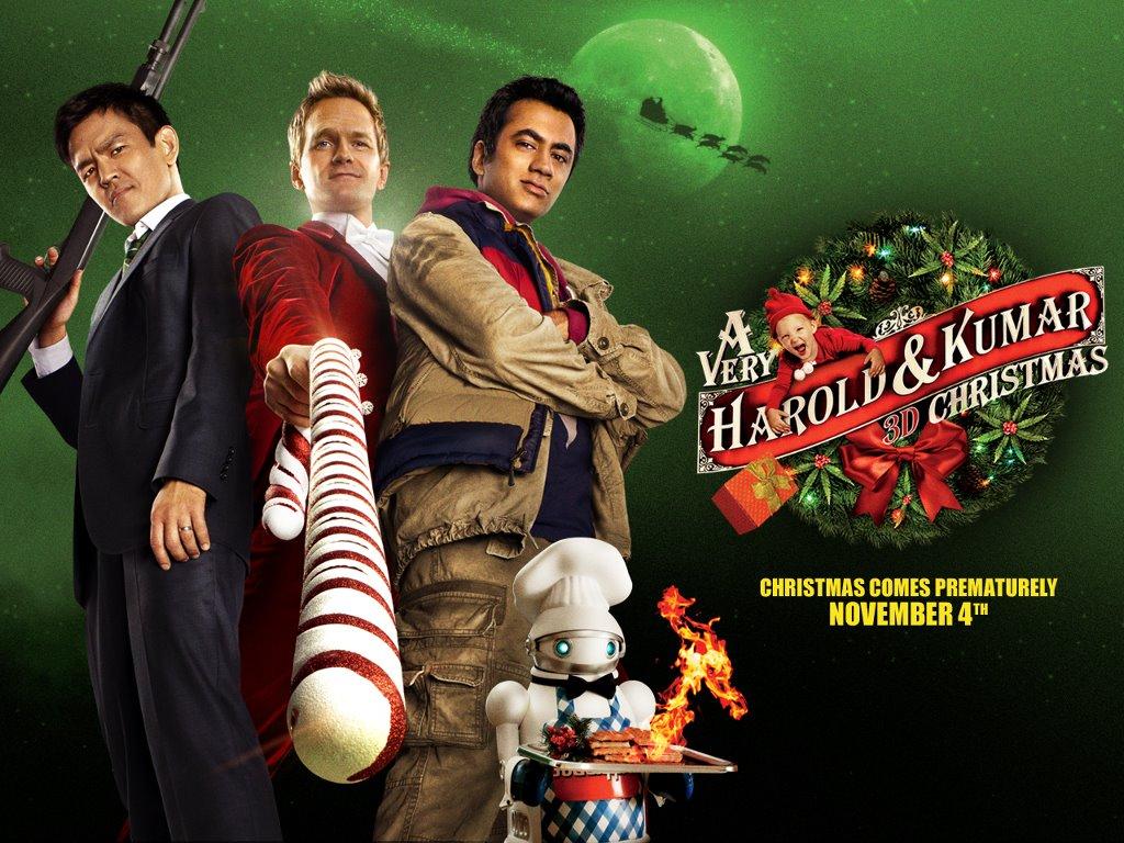Movies Wallpaper: A Very Harold and Kumar 3D Christmas