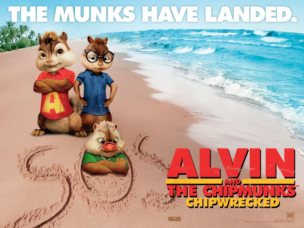 Movies Wallpaper: Alvin and the Chipmunks - Chipwrecked