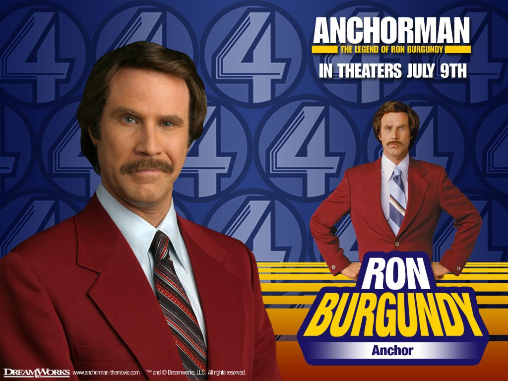 Movies Wallpaper: Anchorman - The Legend of Ron Burgundy
