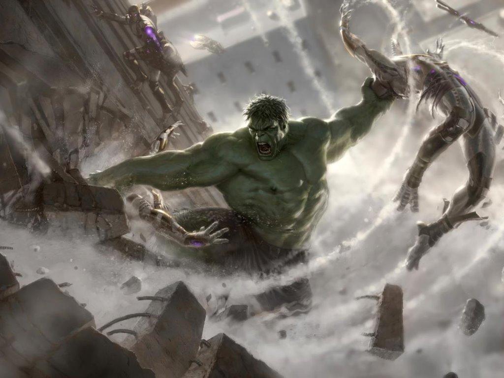 Movies Wallpaper: The Avengers - Concept Art (Hulk)