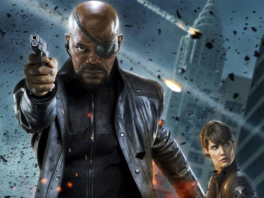 Movies Wallpaper: The Avengers - Nick Fury