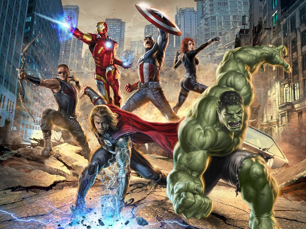 Movies Wallpaper: The Avengers