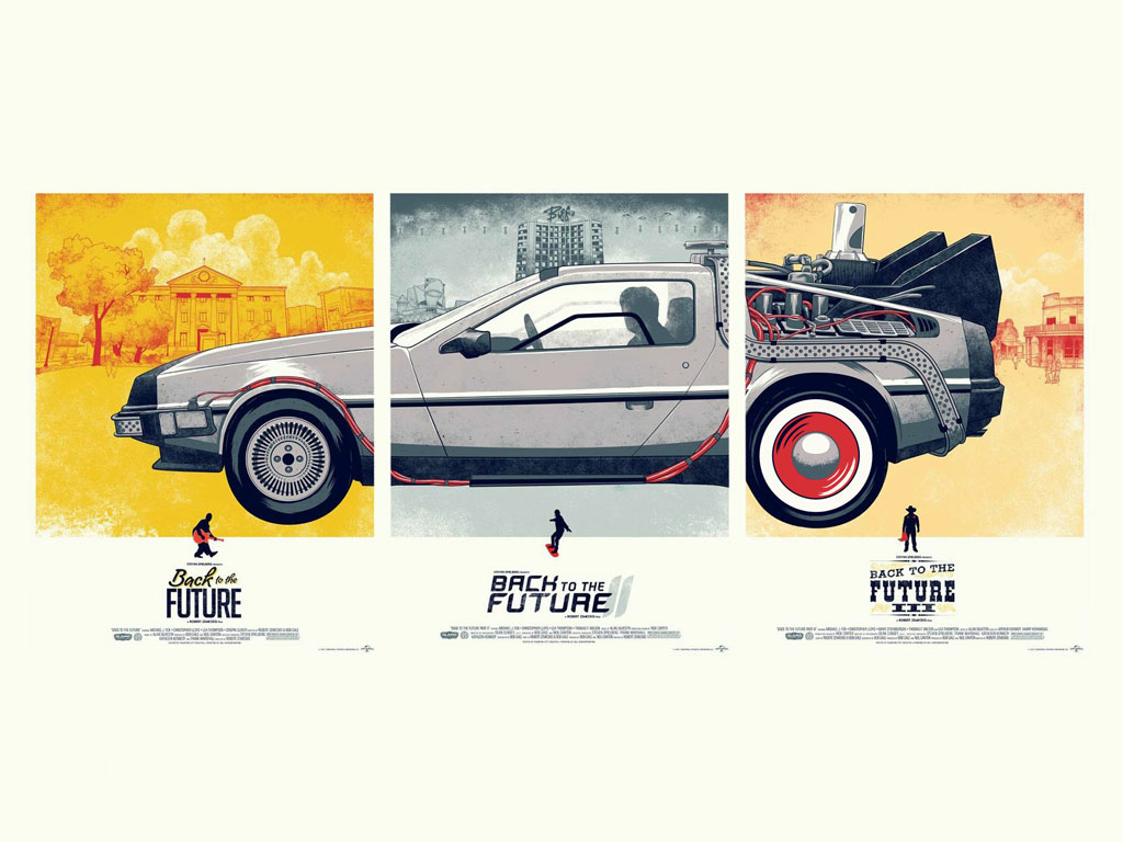 Movies Wallpaper: Back to the Future - Trilogy