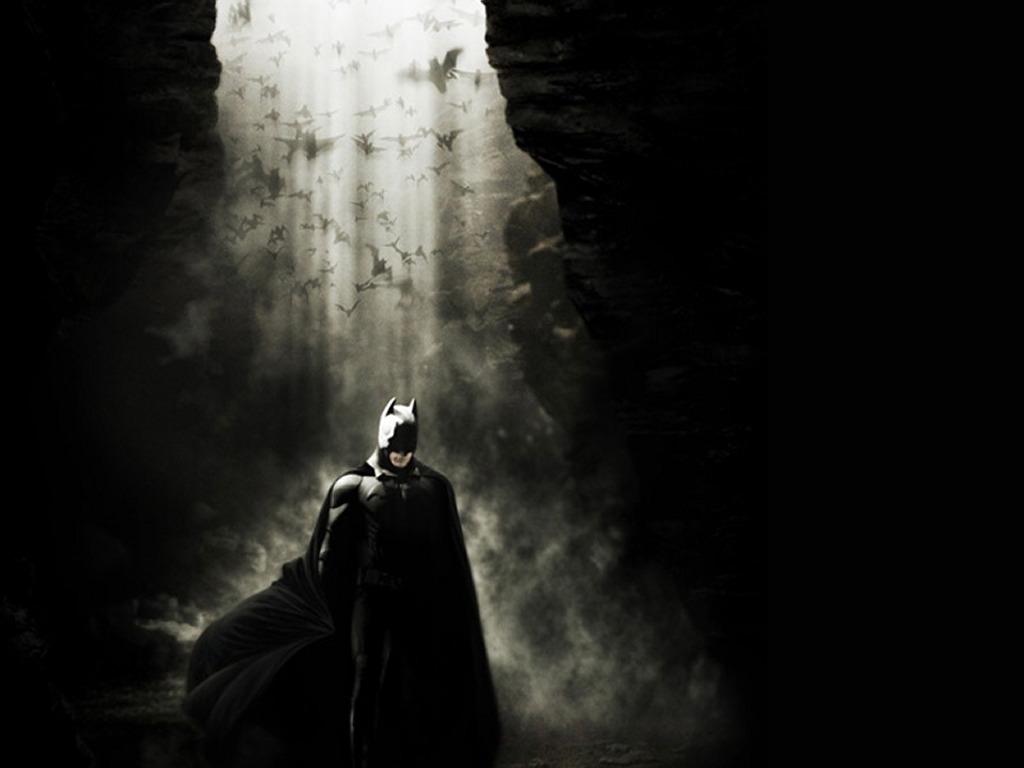 Movies Wallpaper: Batman Begins - the Cave