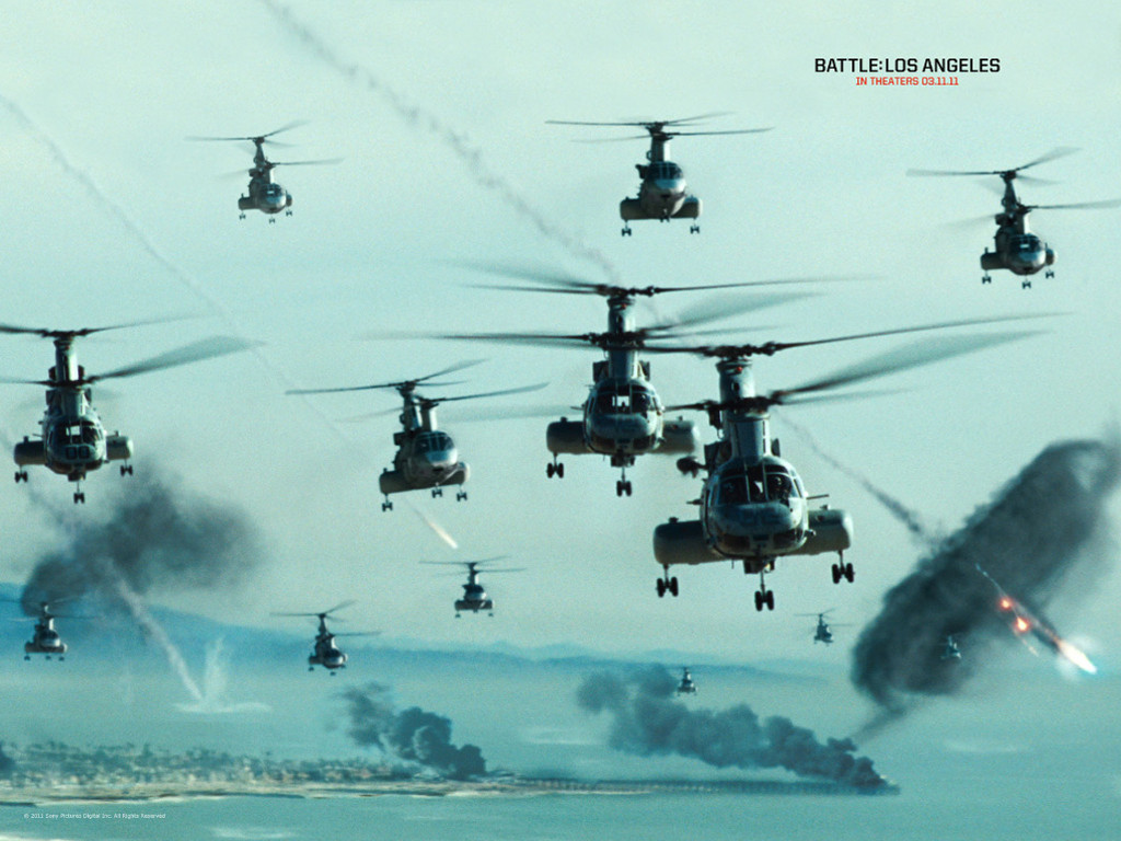 Movies Wallpaper: Battle Los Angeles