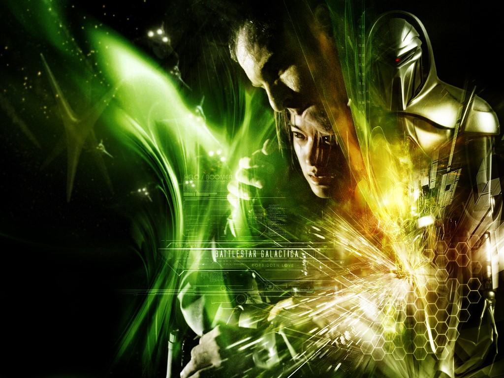 Movies Wallpaper: Battlestar Galactica - Collage