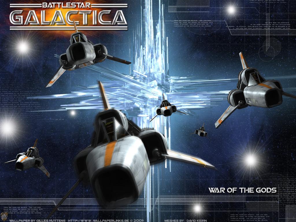 Movies Wallpaper: Battlestar Galactica - War of the Gods
