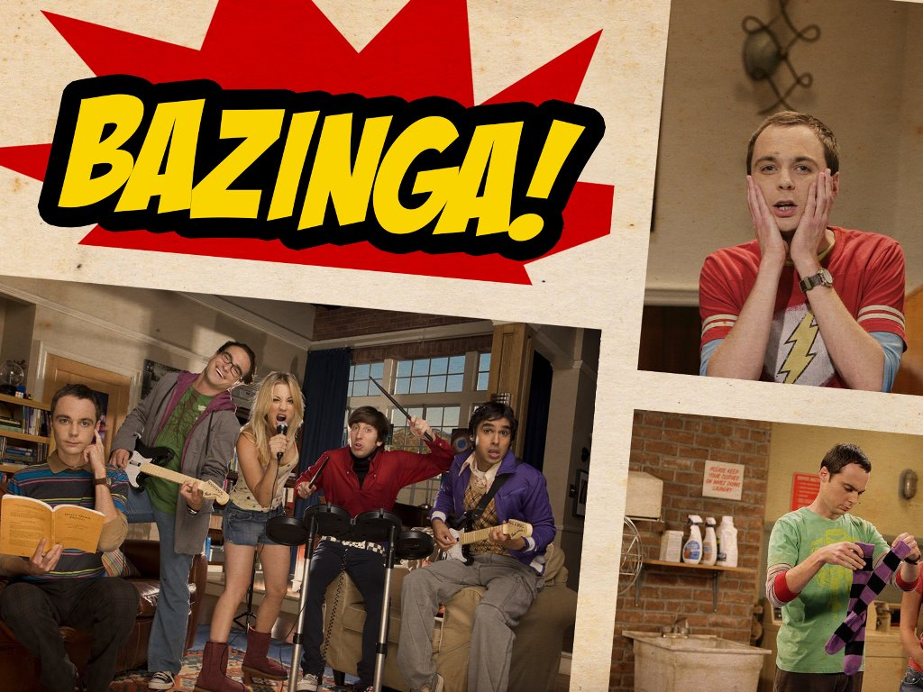 Movies Wallpaper: Bazinga!