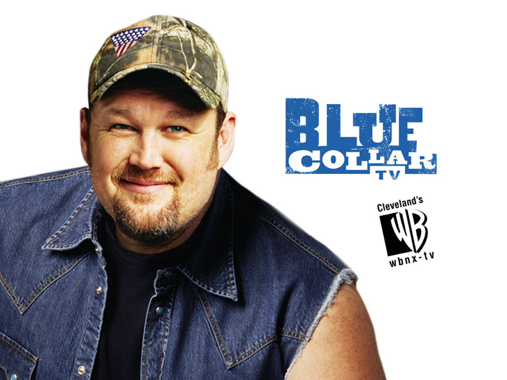 Movies Wallpaper: Blue Collar TV - Larry, the Cable Guy