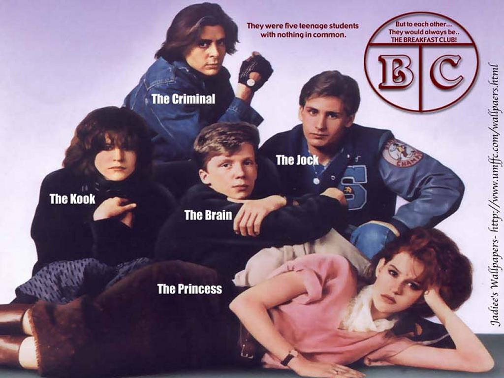 Movies Wallpaper: Breakfast Club