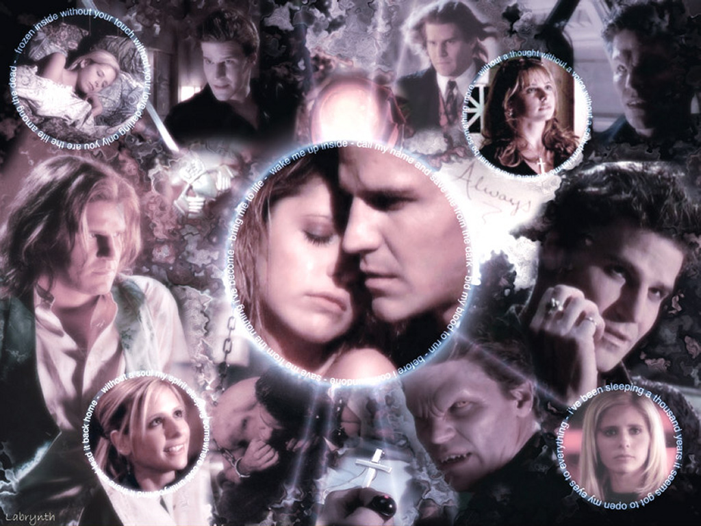Movies Wallpaper: Buffy and Angel