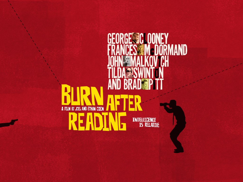 Movies Wallpaper: Burn After Reading