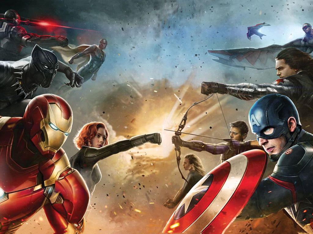 Movies Wallpaper: Captain America - Civil War