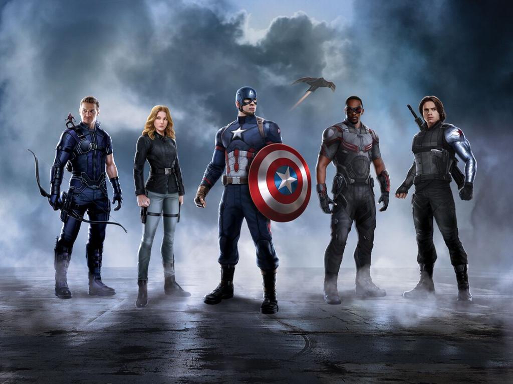Movies Wallpaper: Captain America - Civil War