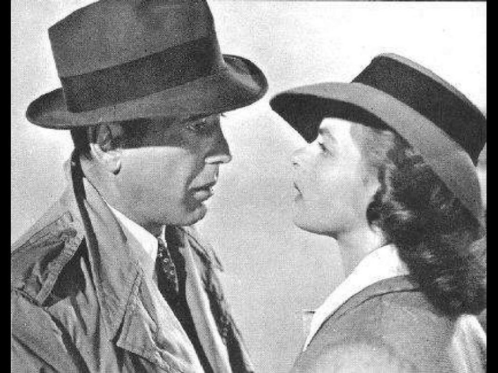 Movies Wallpaper: Casablanca - Lovers