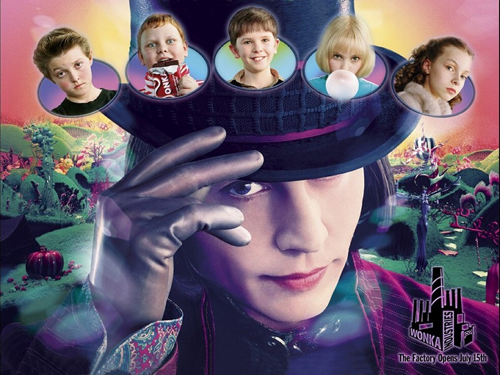 Movies Wallpaper: Charlie and the Chocolate Factory