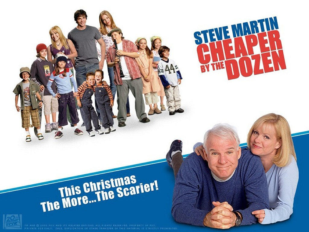 Movies Wallpaper: Cheaper by the Dozen