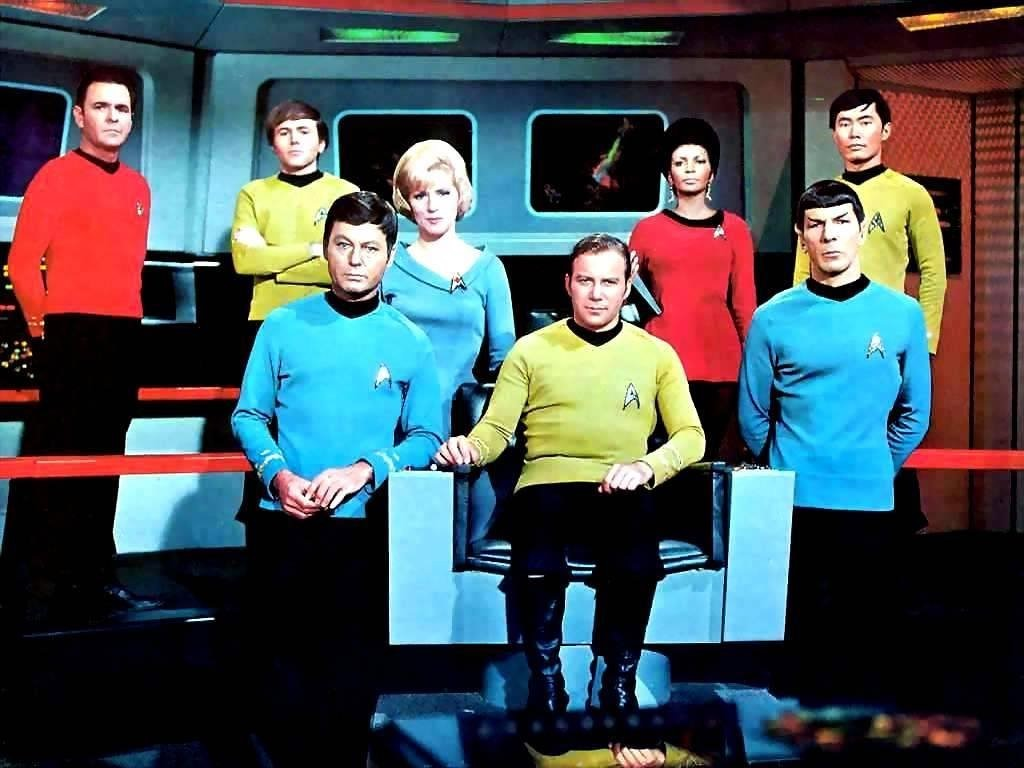 Movies Wallpaper: Classic Star Trek - Crew