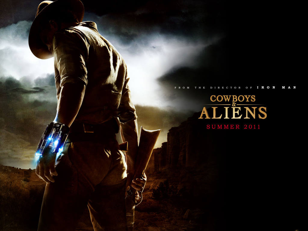 Movies Wallpaper: Cowboys and Aliens