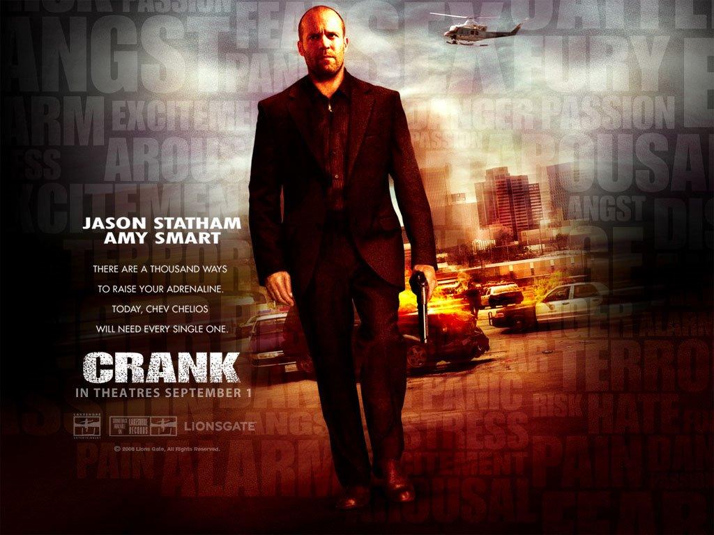 Movies Wallpaper: Crank