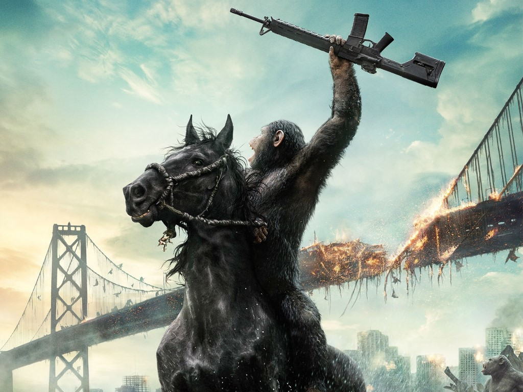 Movies Wallpaper: Dawn of the Planet of Apes