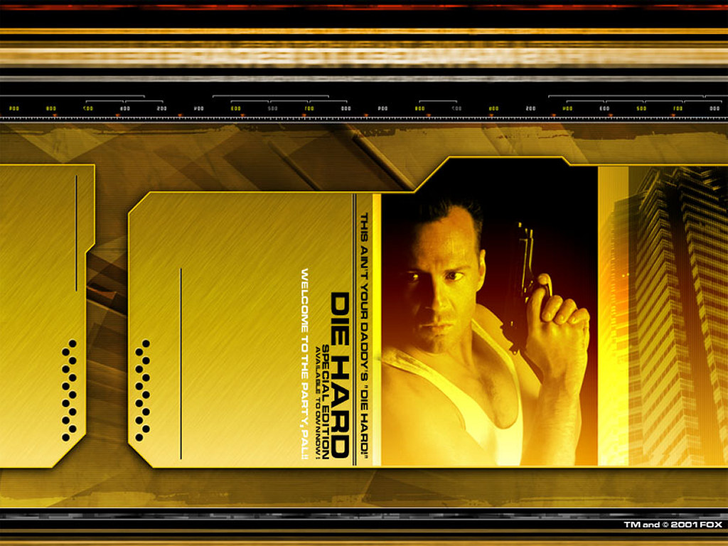 Movies Wallpaper: Die Hard - DVD Edition