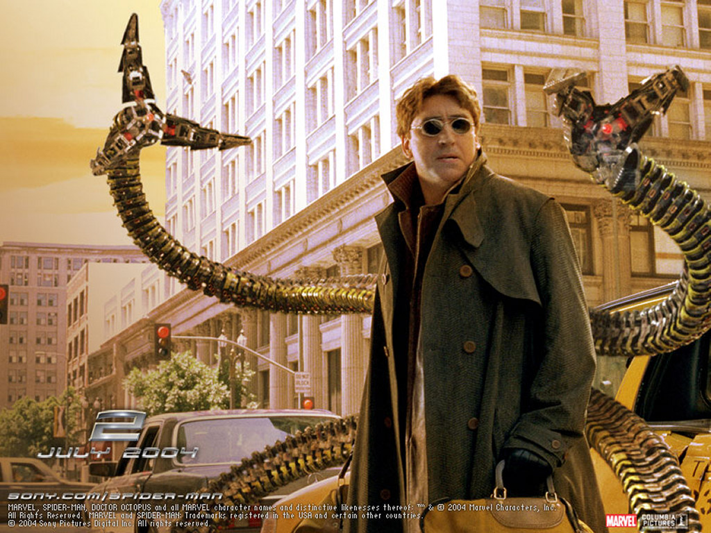 Movies Wallpaper: Doctor Octopus