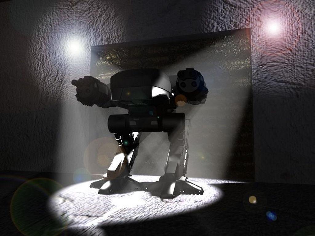 Movies Wallpaper: Robocop - ED 209