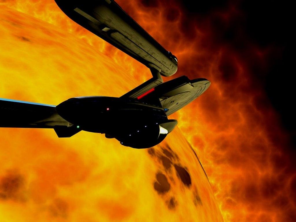 Movies Wallpaper: Enterprise - Into the Sun
