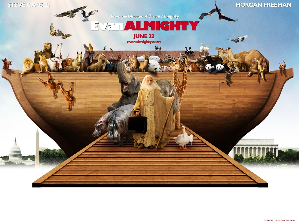 Movies Wallpaper: Evan Almighty