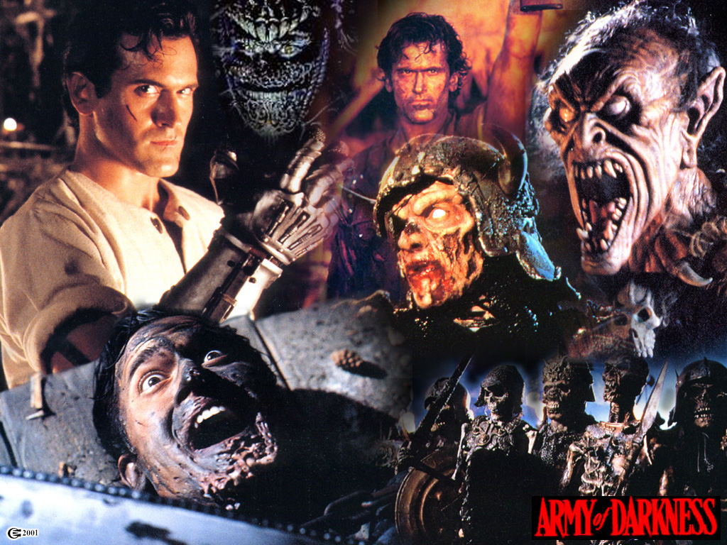 Movies Wallpaper: Evil Dead - Army of Darkness