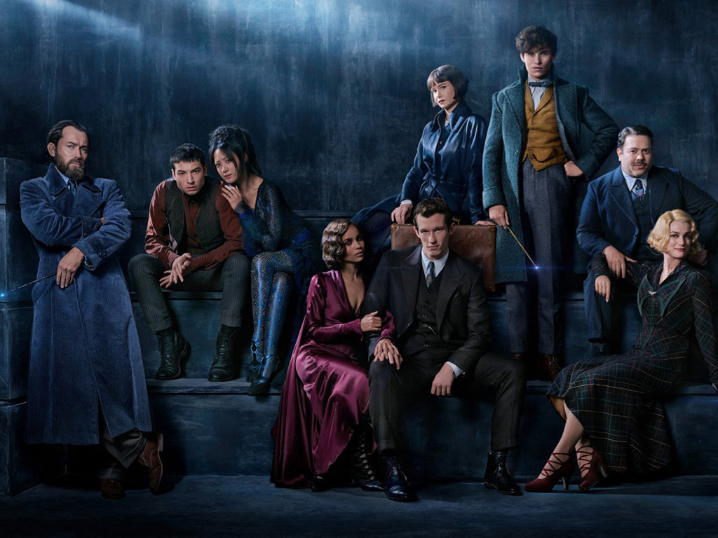 Movies Wallpaper: Fantastic Beasts 2 - Cast