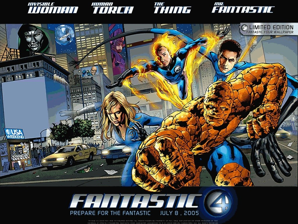 Movies Wallpaper: Fantastic Four