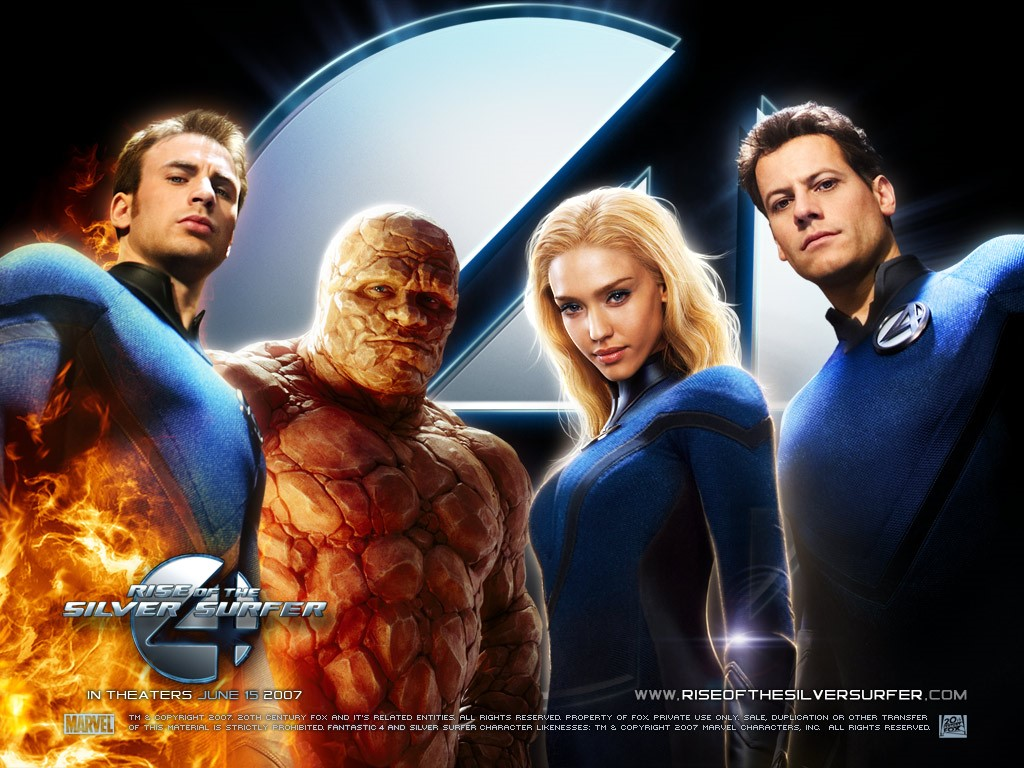Movies Wallpaper: Fantastic Four - Rise of the Silver Surfer